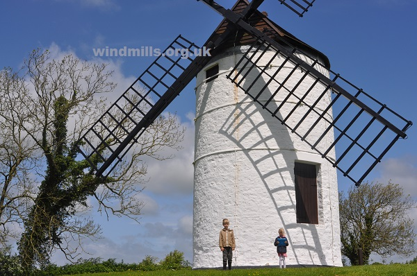 ashton windmill exterior