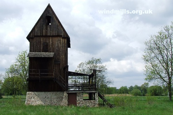old windmill poland