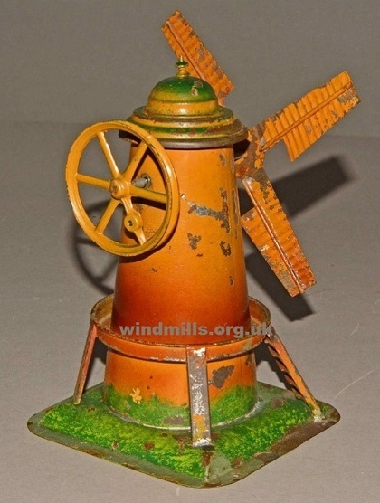 steam wind mill from germany