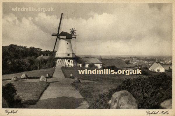 windmill dybbol denmark