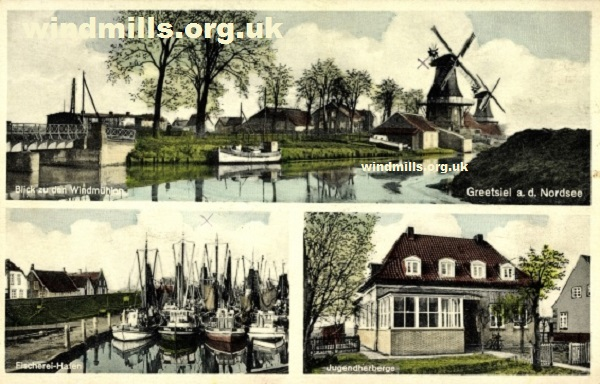 windmill germany Greetsiel