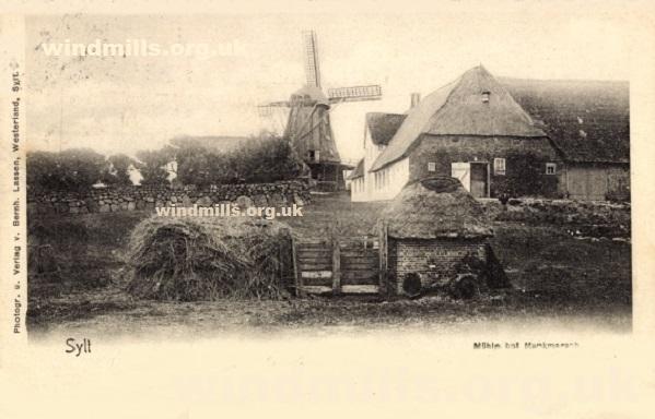 windmill munkmarsch germany