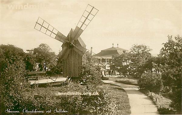 windmill skansen sweden