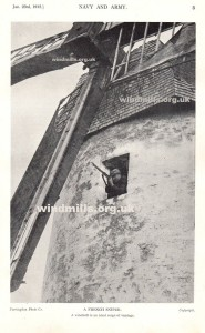 windmill sniper first world war france