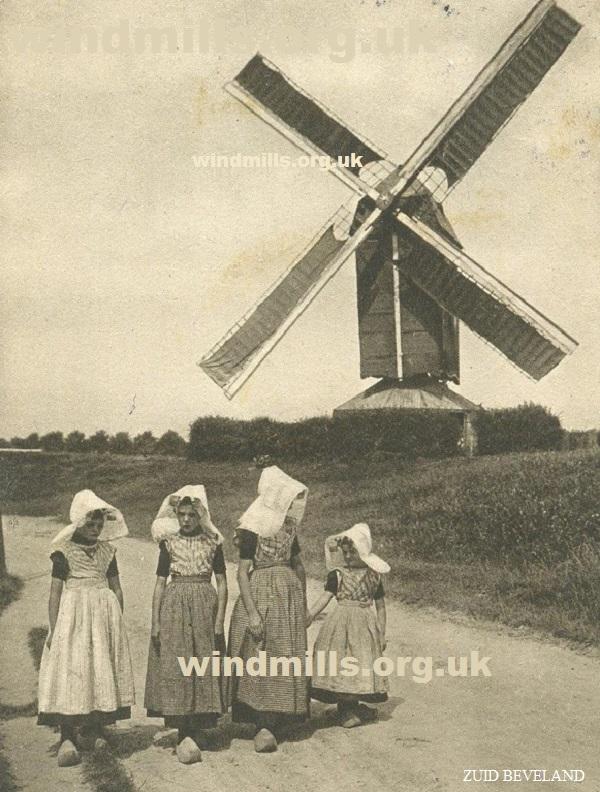 windmill zeeland holland