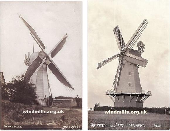 windmills kent england