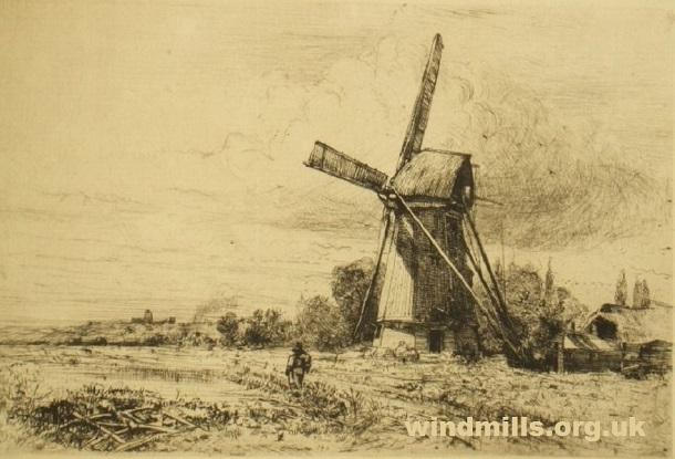 windmill fens fenland
