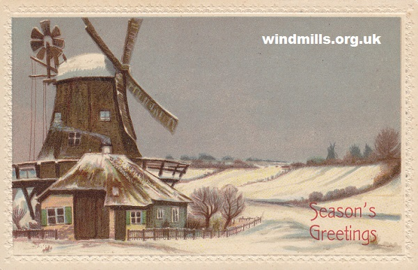 Christmas windmill