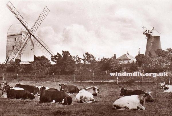 Clayton Mills windmills