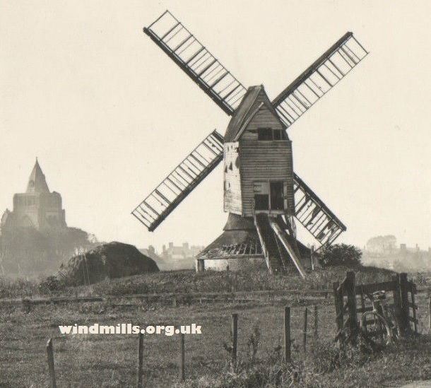Crowland Post Mill