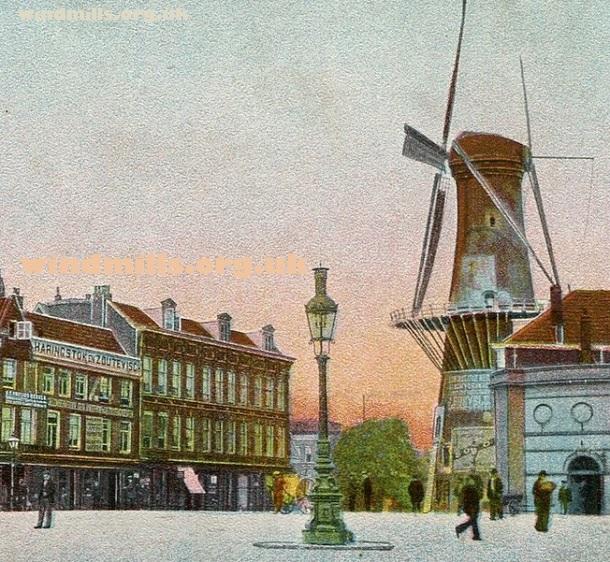oostplein rotterdam windmill